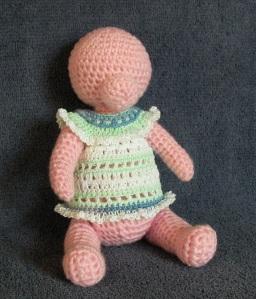 Girl Baby Teddy Bear - Work in Progress