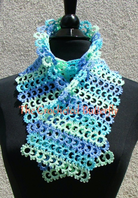The Sea Breeze Scarf - one of my latest additions!