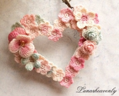 Flowered Heart by LH