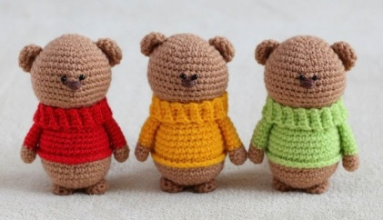 amigurumi-teddy-bear-brothers-free-crochet-pattern
